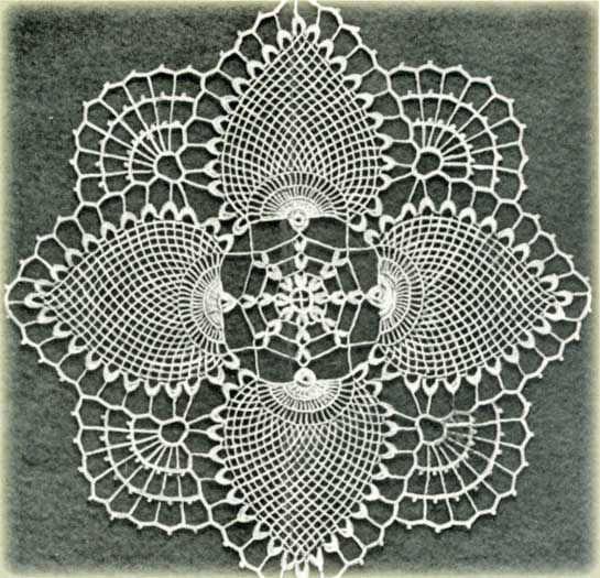 Crochet Patterns Vintage Doilies : Free Vintage Crochet Doily Patterns