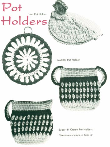 Free Crochet Patterns Weekly: Crochet a Toilet Seat Lid Cover