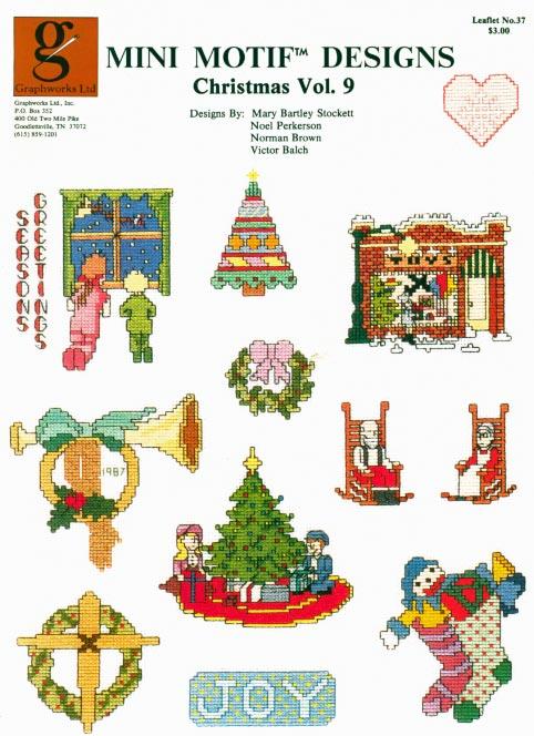Christmas Stockings Cross Stitch Pattern christmas