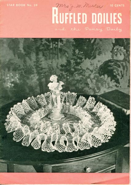 Crochet Arm Chair Doily Covers - Antiques, Art and Collectibles