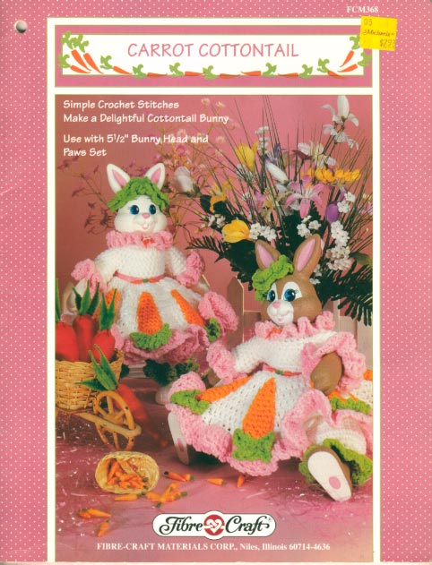 Dolly Donations: Free Bunny Rabbit Crochet Pattern for the