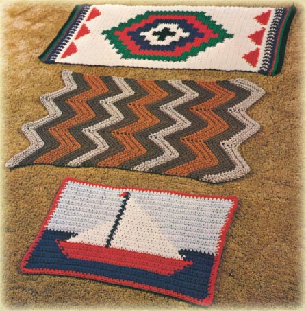 Afghan Crochet Navajo Pattern Crochet Patterns