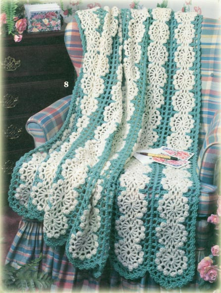 Free crochet patterns, afghans, clothing and more from CrochetKim.com