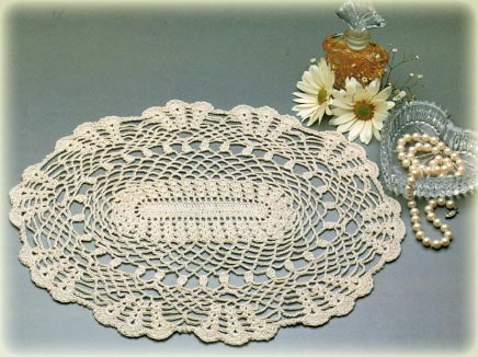 Square Crochet Doily | Free Crochet Patterns  Free Knitting