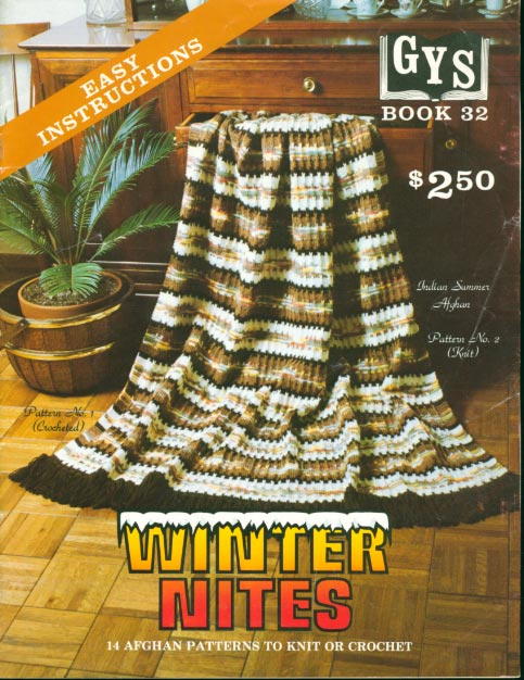 I am looking for a crochet pattern called INDIAN HEAD AFGHAN It is