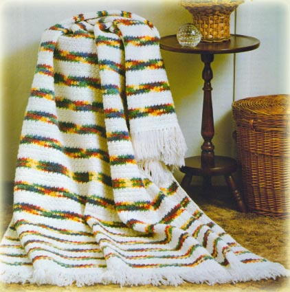 Knitting Pattern For Rippling Waves Afghan : KNITTING PATTERN FOR RIPPLING WAVES AFGHAN   KNITTING PATTERN