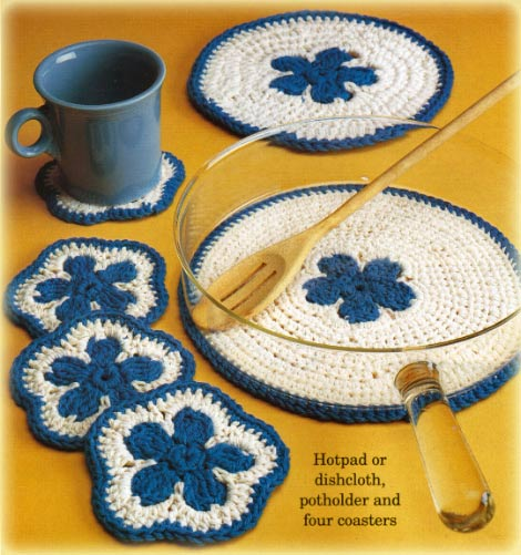 Free Crochet Patterns Kitchen Accessories : FREE KITCHEN CROCHET PATTERNS ? Easy Crochet Patterns